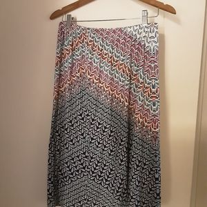 Multicolored skirt